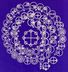 カタカムナ写真-文字の表
